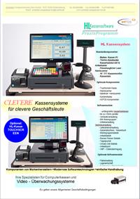 Scannerkassen, Kassensysteme